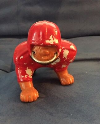 """RARE 1960s Calgary Stampeders CFL Kail figurine nodder 4.5"""" long by 3.5"""" high"""