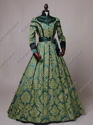 Victorian Gothic Queen Game of Thrones Dress Adult Punk Halloween Costume C021 M