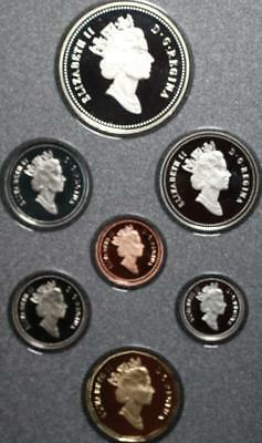 Uncirculated 1990 Canada Silver Proof Set Free S/H