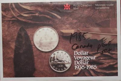 Uncirculated 1985 Canada Proof Set Free S/H