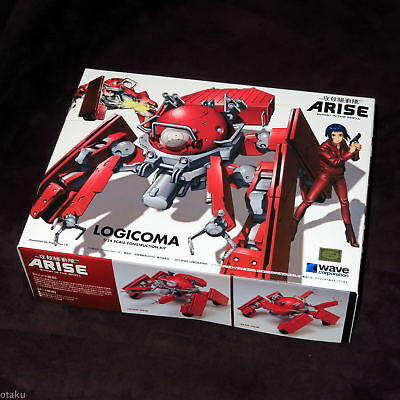 Logicoma 1:24 Scale Kit Arise Ghost In The Shell Wave Model Japan Anime NEW