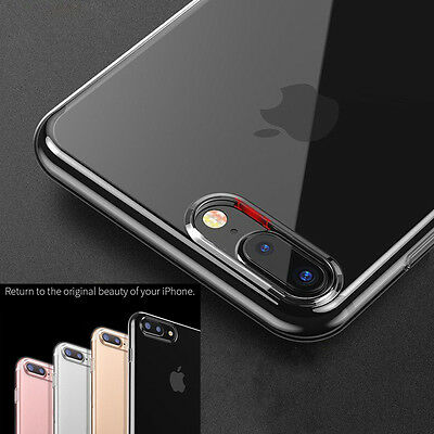 Apple iPhone 7 / 8 Plus Case Crystal Clear Rubber Protector Shockproof Cover