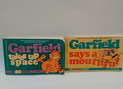 Lot of 2 Garfield Books 1st Editions