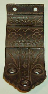 Antique Ornate Victorian Stair Handrail Bracket - Sargent - c.1880 - Cast Iron