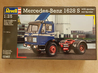 Revell 1:25 scale Mercedes 1628S