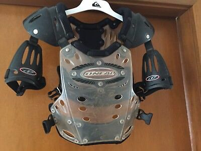 O'NeaMotorcross Motorbike Armour Approx Small Youth (no Sizes On Labels)