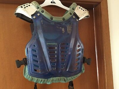 Shift Motorcross Motorbike Armour Approx Medium Youth (no Sizes On Labels)