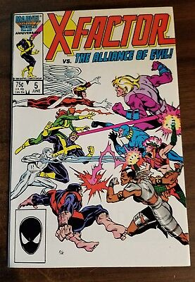 X-FACTOR  5 1986 1st Cameo Appearance of Apocalypse VF/NM Warehouse Find