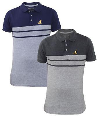 ec7fba58 Mens T Shirts Kangol Pique Polo Shirt Summer T-Shirt Tops Multi-Color S