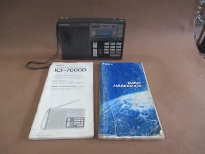 Radio, Sony, short-wave, synthesized receiver, ICF-7600D