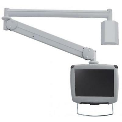 Q610516 Medical Wall Mount 10-30In Gas Crm. Max 6Kg.vesa75X75To100X100Mm