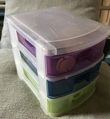 Small Plastic Drawers For Craft Materials Storage