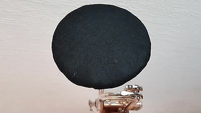 Trumpet Felt Mute - Black & White Reversible - Wool Blend,  Warm Flugel Effect