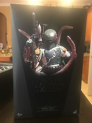 Star Wars~Rotj~Boba Fett~Bounty Hunter~Deluxe~Sixth Scale Figure~Hot Toys~Mib