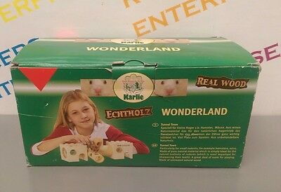 Karlie Wonderland Wooden Hamster Rodent Tunnel Town System NEW & Boxed