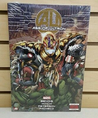 Age of Ultron Hardcover Graphic Novel - NEW & SEALED HC Book Marvel Avengers