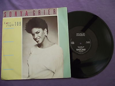 "Sonya Grier - Love Flight 109. 12"" Vinyl single (12s852)"
