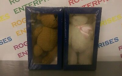 2 x Atlas Editions Teddy Bear Heritage Collection Issues 1 & 2 Both NEW & Sealed