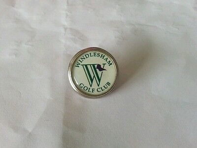 Windlesham Golf Club Ball Marker