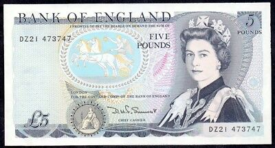 5 Pounds From England Unc