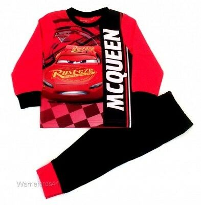 Boys Cars 3 pyjamas, pjs, character nightwear 18mths - 5 yrs Lightening Mcqueen