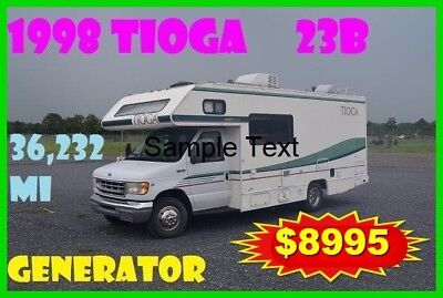 1998 Fleetwood Tioga 23B Used