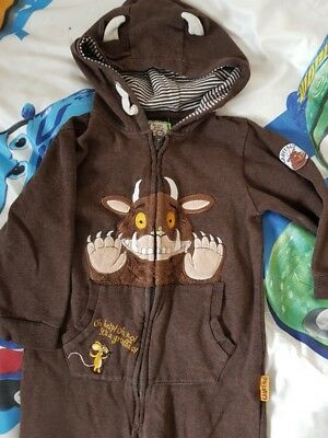 Gruffalo all in one sleepsuit /outfit/ costume - world book day - aged 2-3 years