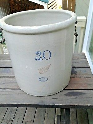 20 Gallon Red Wing Crock
