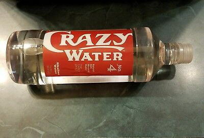 Crazy Water No. 4 - Natural Still Mineral Water - Alkaline 1 Liter - Famous Well