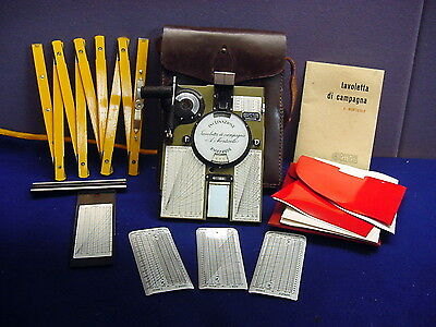 Rare Officine Galileo (Workshop Galileo) Surveying Kit Tablet Montiggle