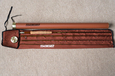 "Sage SLT 696-4  -  9ft 6"", 6 Wt  Fly Rod, Inc Tube etc"