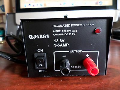One Qje Dc Regulated Power Supply (Brand New)