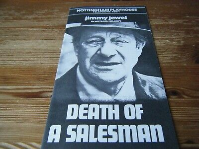 1977   Theatre  Programme  - Death Of A Salesman  -  At The Nottingham Playhouse