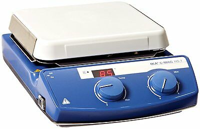 "IKA C-MAG 7"" Magnetic Ceramic Hotplate Stirrer, 10L Capacity, 1500rpm, 3581201"