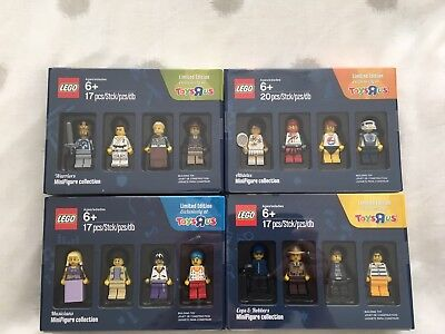 Lego Full Set Of Minifigures. Ltd Edition. Excl To Toys R Us. New Sealed.