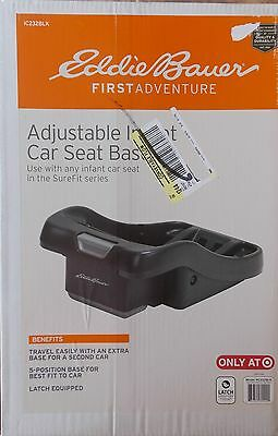 NEW Eddie Bauer First Adventure Adjustable Car Seat Base for SureFit Series