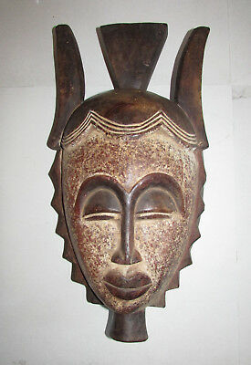Baule Mask from the Ivory Coast of West Africa