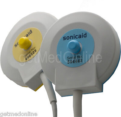 TOCO Transducer for Sonicaid Team Fetal Monitors PINK Part# ACC-OBS-009
