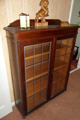 Attractive glass fronted book case