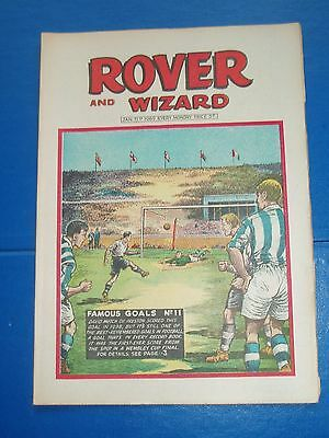 1938 FA CUP FINAL PRESTON v HUDDERSFIELD COVER  ROVER COMIC 1969 + SCHOOL STRIPS