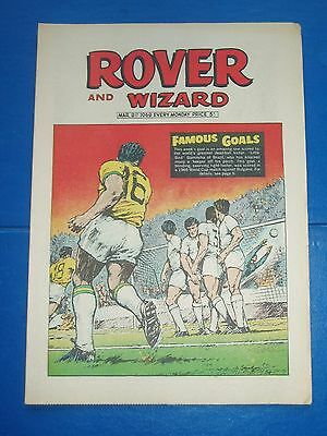 BRAZIL v BULGARIA  GARRINCHA  SCORES  1966 WORLD CUP  ROVER 1969 SCHOOL STRIPS