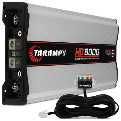 Taramps HD-8000-2 Ohms Car Amplifier