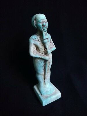 Ancient Egyptian Statue of God Ptah (4th to 3rd century BC)