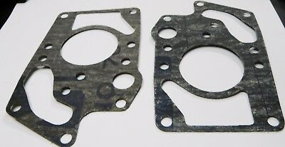 2 JOHNSON EVINRUDE OMC 306171 EXHAUST COVER GASKETS 10hp GKT NOS qty