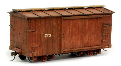 On30 Fat Albert Boxcar Conversion to fit Bachmann 18ft flat car