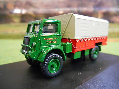 Oxford Bertram Mills Bedford Qld Circus Lorry 1/76 76Qld003