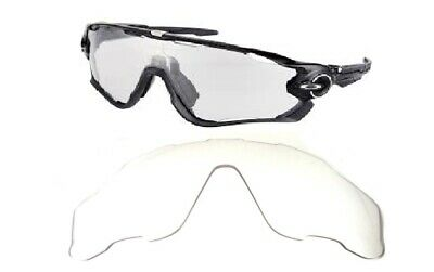 Galaxy Replacement Lenses For Oakley Jawbreaker Sunglasses Crystal Clear