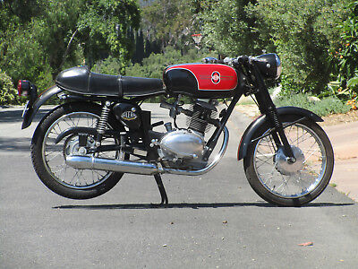 1968 Other Makes Gilera 124 5V Café Racer  1968 Gilera 124 5V Café Racer
