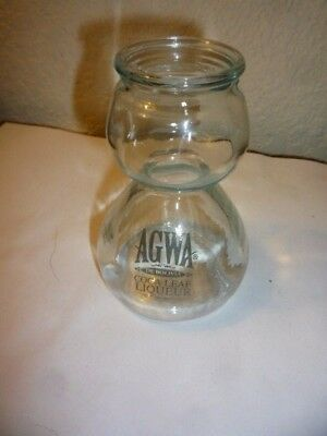 AGWA Coca Leaf Liqueur 6 Oz. Double Bubble Shot Glass