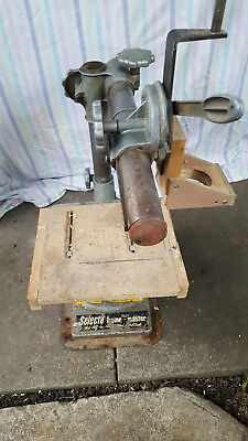 1950s Selecta Home Workshop master jig drill router compound press